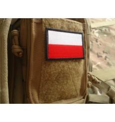Naszywka Flaga Polski - Kolor - Standard