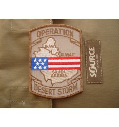 Patch - Naszywka Operation Desert Storm /Pustynna Burza/ - Coyote / Full Color