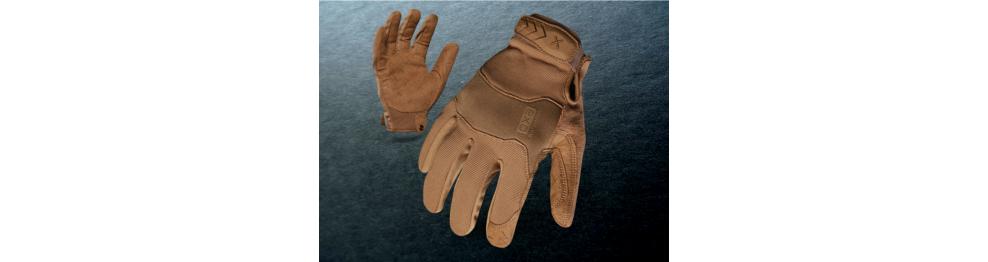 Rękawice i pasy taktyczne