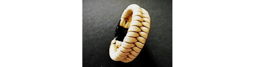 PROJEKT PARACORD / Bransoletki i breloki surwiwalowe